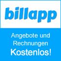 Billapp - Rechnungen und Angebote kostenlos online schreiben und verwalten
